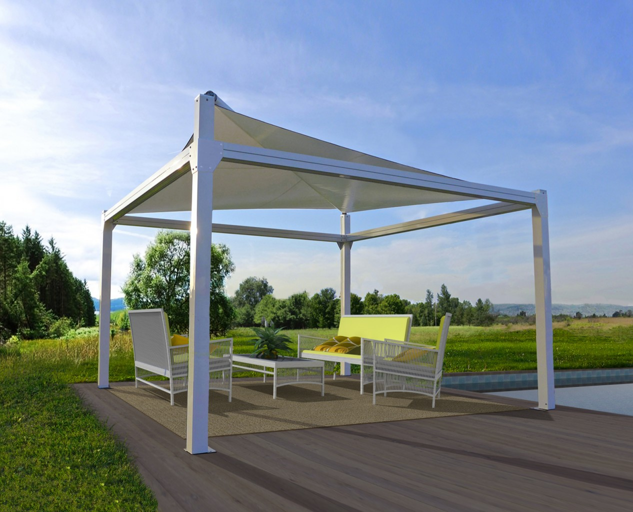 Products kamchis shading systems for Rendering giardino