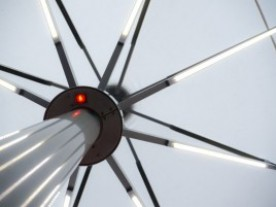 BIG-BEN UMBRELLA 2X3m / LED / HEATERS